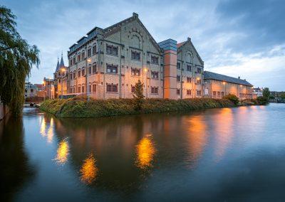 Former prison building Leeuwarden, Holland