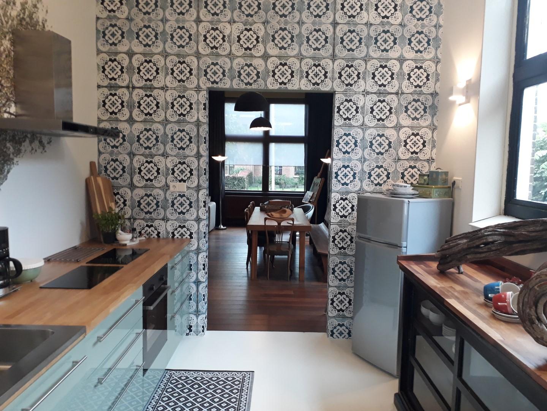 BinnenInn Familiehuis Metslawier Keuken en eettafel